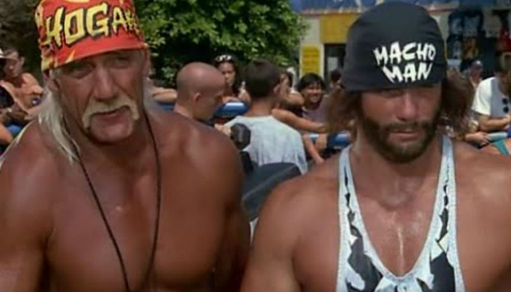 Hulk Hogan and Macho Man Randy Savage