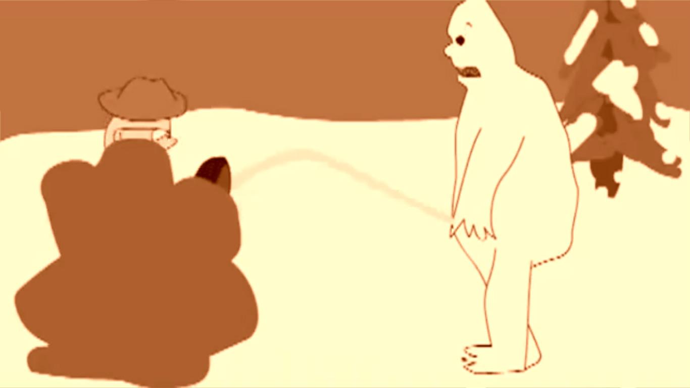 Yeti - Cartoon