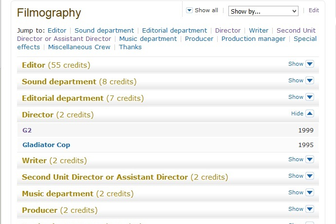 IMDB Nick Rotundo 2