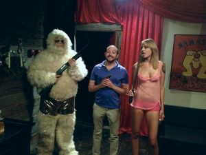 Fun on the set of Yeti 2