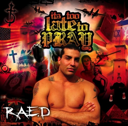 Raed Album Cover