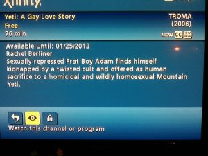 TV description