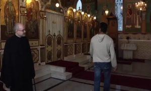 Raed in Church