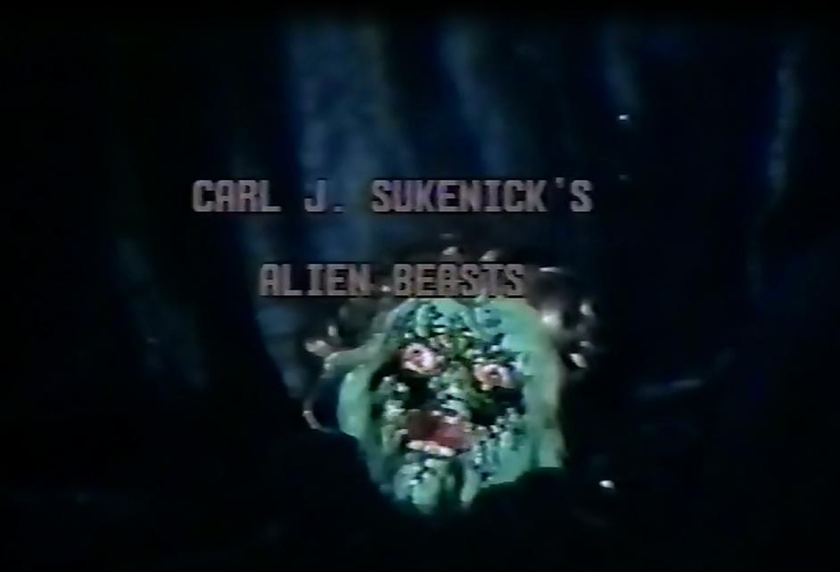 Alien Beasts Title