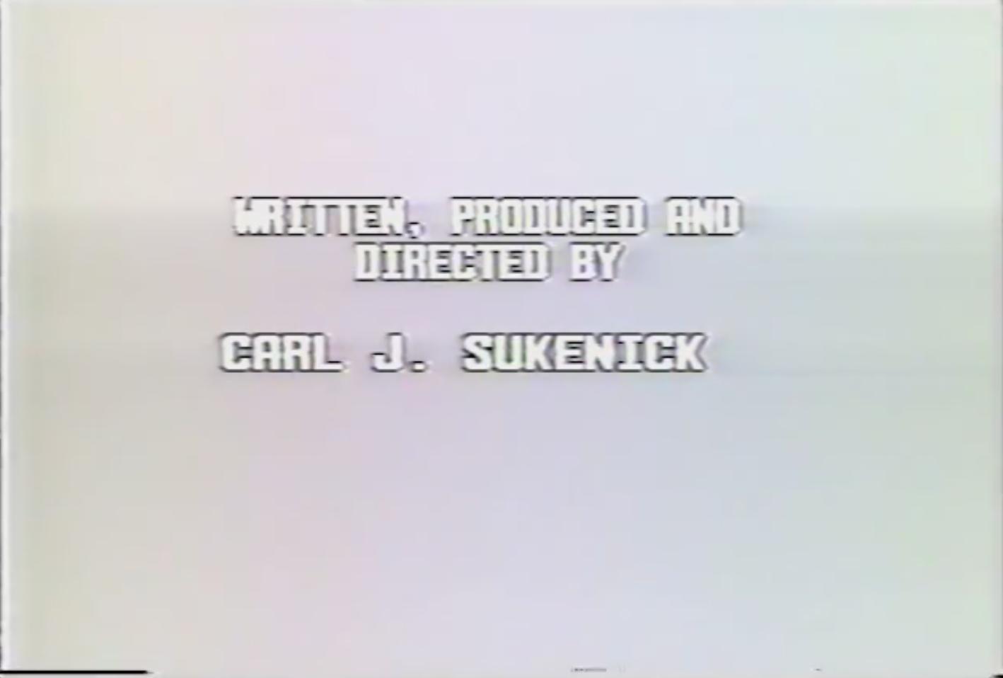 Sukenick credits