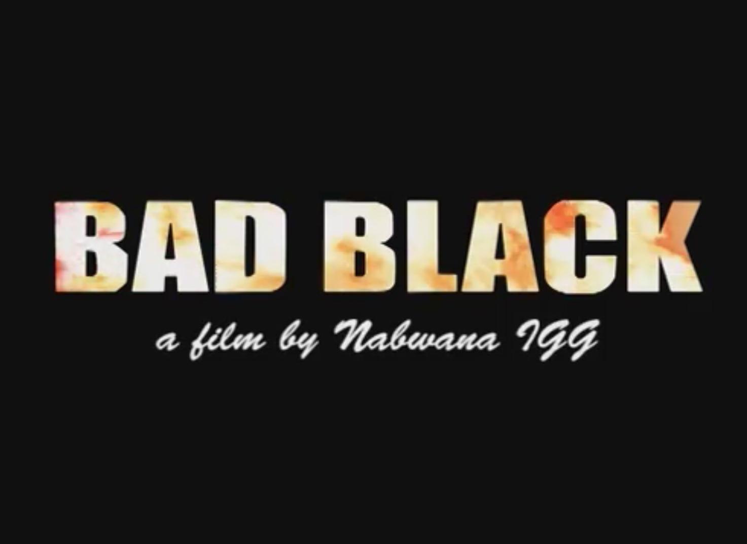 Bad Black title 02