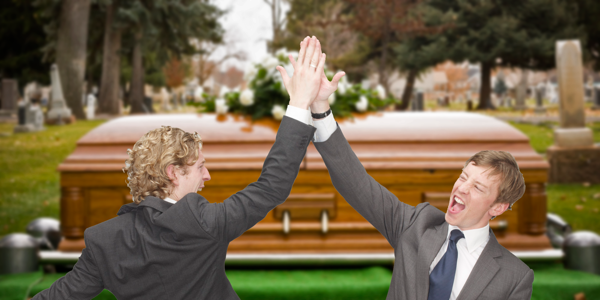 High five funeral