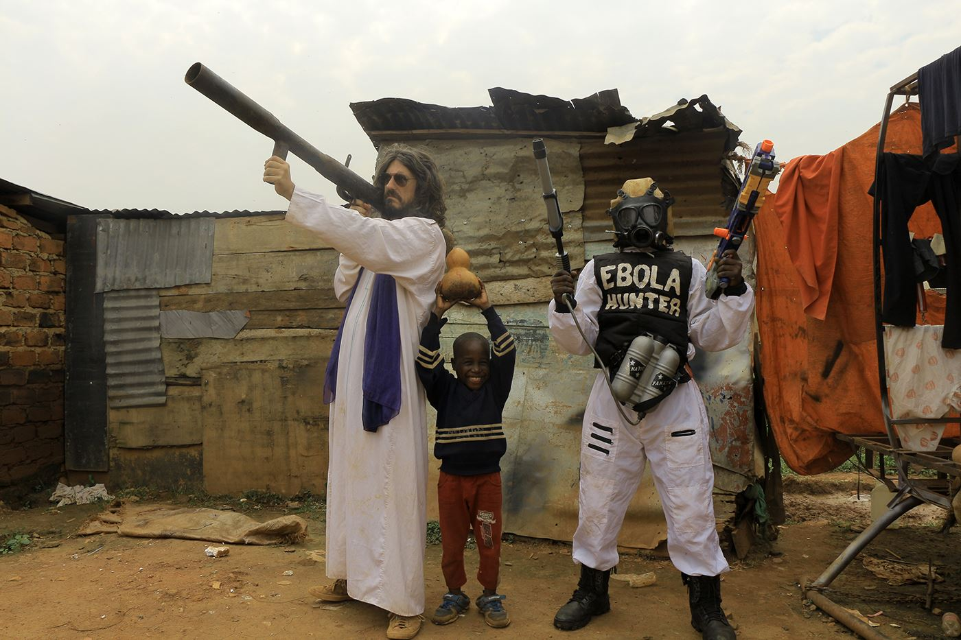 Wakaliwood ebola hunter